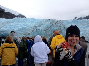 me and Pavel on the Portage glacier tour