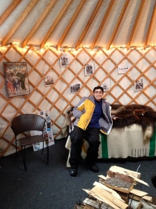 jason in the yurt