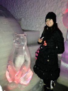 pavel and i at the ice museum